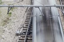 Raíles y tren